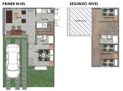 modelo casas del valle III
